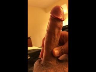 Hotel room - masterbation