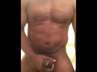 Cum in the gym bathroom