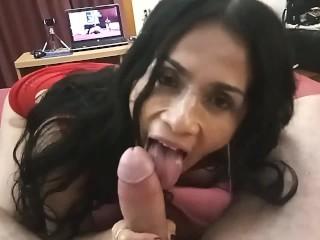 Auf Intrrracial sex wie leck ich sie richtig