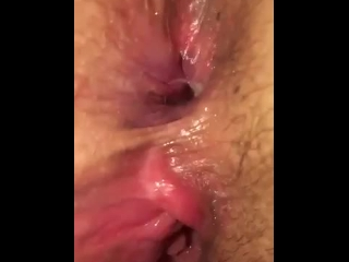 Red head gets her asshole and pussy fingered after getting fucked hard