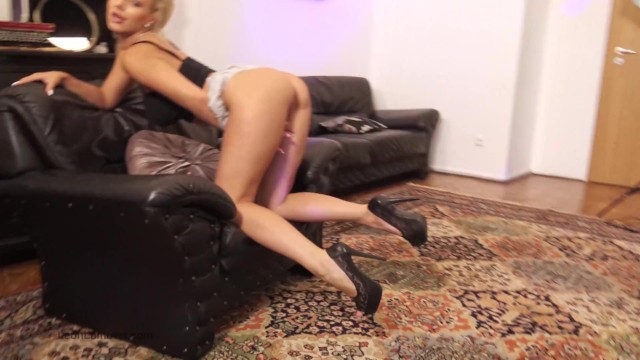 Windy upskirt videos Short skirt in front of the ventilator / windy day at home :