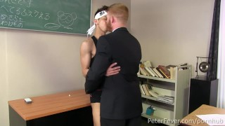 Preview 4 of Ginger CIA Stud Bennett Anthony Plows Lean Asian Levy Foxx, BLACK PANDA EP9