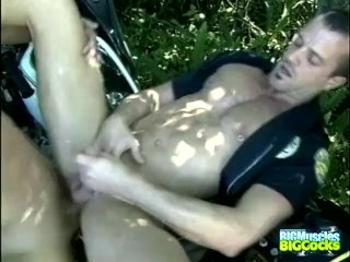 Naughty Cops Brian And Vincee