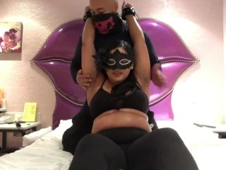 indiangyal getting her upper body tickle tortured