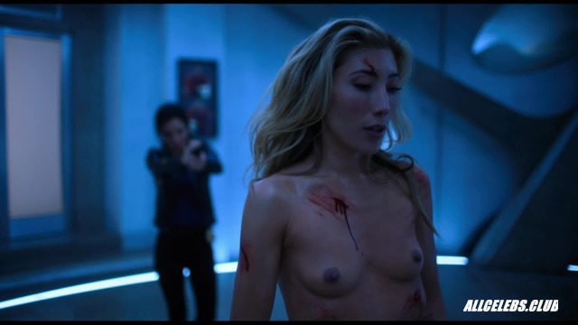 Actress nude celeb - Dichen lachmans fully nude fight scene from altered carbon