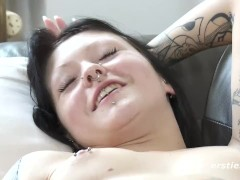 Marina Shaved Pussy and Exotic Nose Ring - ersties