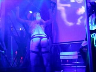 Kira Diamond, Nikki Chanell & Nikita Wilde live @ T-Girl Party Amsterdam