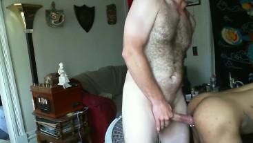 Big Dick Daddy Fucks Hot Interracial Otter Bareback