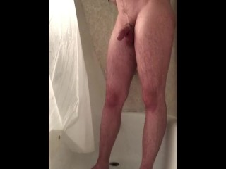 StepSister catches brother masturbating in the shower with hidden cam