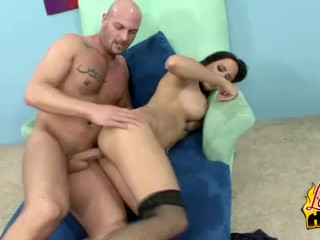 Lacey Cruz Gets Jizzed All Over