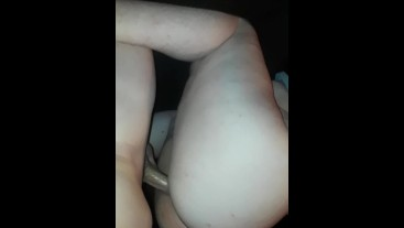 BBW going down on her fiance, then bouncing on his thick cock