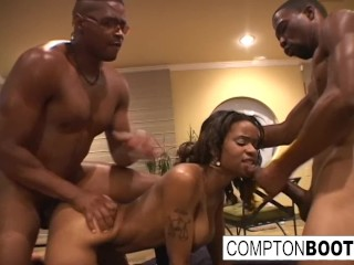 Lesbian Spanking Threesome And Three Way Fuck Fest
