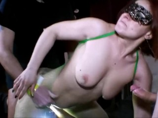 Miss Mina scopata e riempita di sborra nel culo