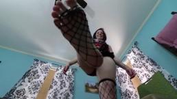Giantess Punishes Teacher