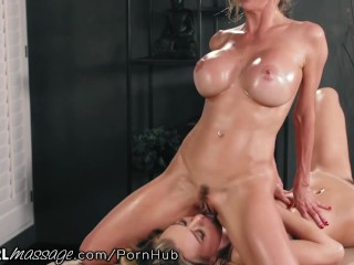 Alexis Fawx makes Natalia Starr Cum from Thai Massage Techniques
