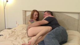 Fucking My Stepdad In Bed