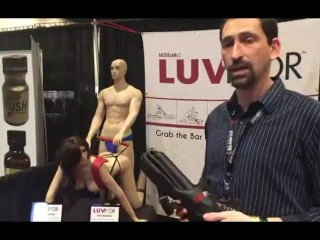Luv Rider with Jiggy Jaguar and Brittany Baxter 2017 AVN Expo Las Vegas NV