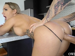 Cali Carter rides cock and sensual blowjob and ball sucking