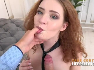 Shelley Bliss RedHead Fucked in the ASS POV