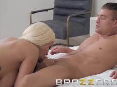 Brazzers - Rich couple and two hot maids make for perfect threesome