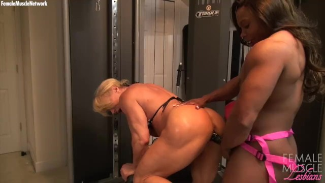 Naked Female Bodybuilders Fuck With A Dildo - Pornhubcom-8547