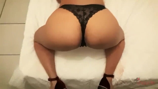 I Love it When He Fucks My Ass Doggy Style - Ganache Chaude Destroyed creampie