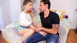 CUM4K - Éducation sexuelle : beau père jouit dans la chatte de sa belle fille