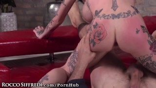 Cock with ride sluts siffredi tattooed rocco felxible assholes has big siffredi
