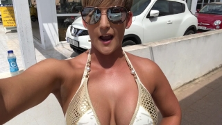 PUBLIC QUAD BIKE DILDO FUCK! XXX  risky sex risky public nudity getting caught big ass naked exebitionist bouncing boobs outdoor public hardcore risky dildo bike big ass bouncing pussy stretching outdoor amateur public masturbation huge dildo