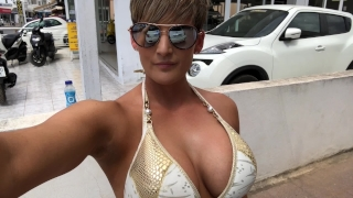 Xxx fuck bike quad public dildo masturbation ass
