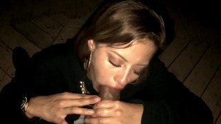 Latina babe gives bbc sloppy deepthroat for tongue cumshot Hunks doggy
