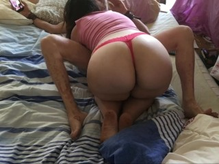 Amateur couple loves blowjob ass view on molly