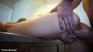 So much cum in my asshole! The Perfect Anal Creampie Spank cowgirl