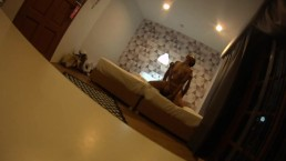 thailand bitch student lick her pussy with foregner in hotel