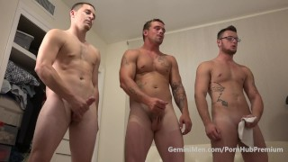3 Bros, No Hos Strip, Get Hard and Get Off..Yum!