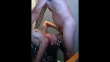 Wife Gives Me a Bitchin' Blowjob til I Blow My Wad