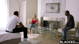 BLACKED Mia Malkova Gets Dominated By Two BBCs porno