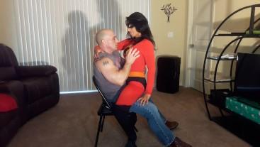 Incredible lap dance