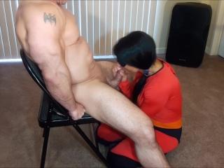 Incredible blowjob