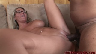 College girl with bigtits Megan Reece pounded by huge black cock Fingering view