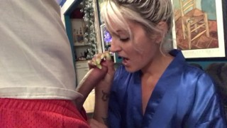 Multiple after jerking in step being caught off son empties mom step nuts mom mom