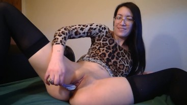 Asian Panty Stuffing & Hitachi Cum - Liz Lovejoy