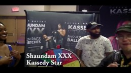 Shaundam XXX with Jiggy Jaguar Denver co Exxxotica 2018