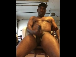 Cum in my garage