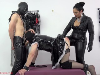 Dag sex xxx pegged and whipped while face-fucked preview kink dp mistress ezada sin