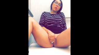 Fitting room masturbation Big wife