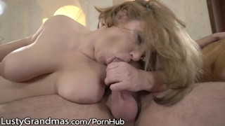 Lustygrandmas loves gilf busty fresh dick lustygrandmas job