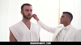 MormonBoyz - Bearded Daddy Gets a Good Fucking