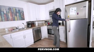 PervMom - Busy Stepmom Makes Time for Stepson Thot sexy