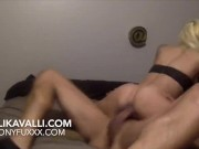 Kali Kavalli Gets Pounded Hard by Step Brother /Anal Plug and cum all ass!